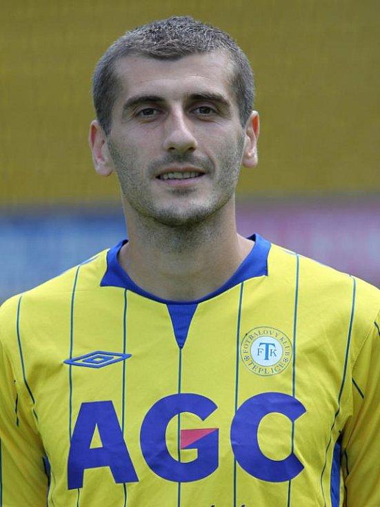 Focení FK Teplice - Admir Ljevakovič