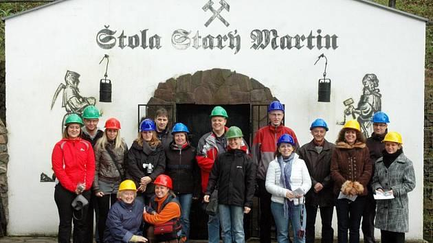 V rámci konference Rozvoj cestovního ruchu ve východním Krušnohoří se asi dvacítka cestovatelů z řad veřejnosti i novinářů podívala do štoly Starý Martin/ilustrační foto
