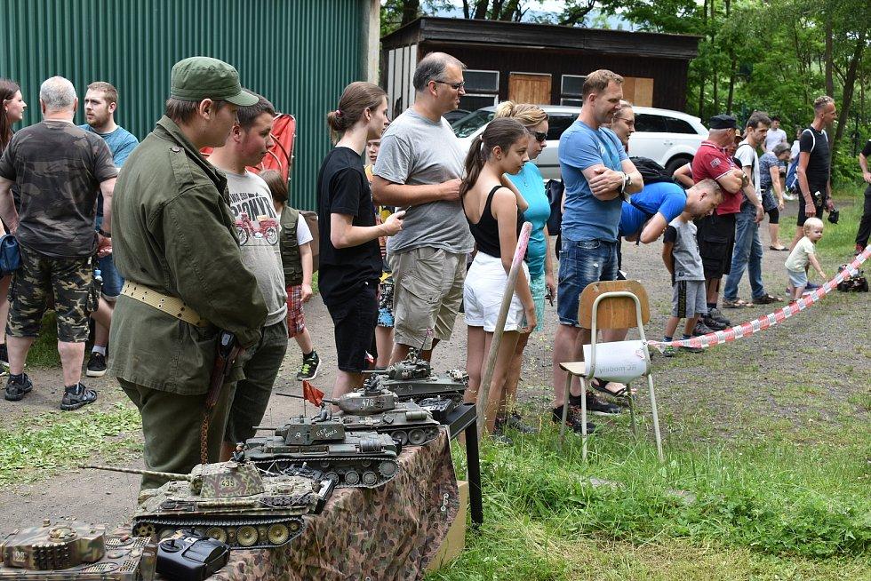 Den otevřených dveří na Střelnici v Teplicích.
