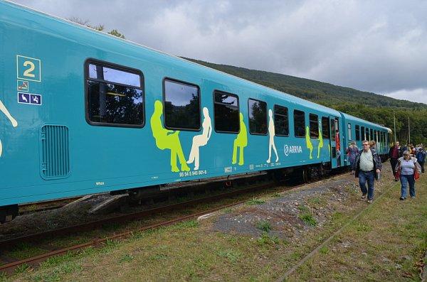 Krušnohorskou železnici chce provozovat společnost Arriva. Vsobotu se přijela představit