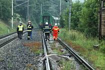 Mrtvý zastavil železniční dopravu u Proboštova