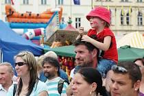 Letní slavnosti v Teplicích v roce 2011.