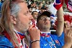 Erik a Michala Antalovi v Petrohradu na Euro 2021
