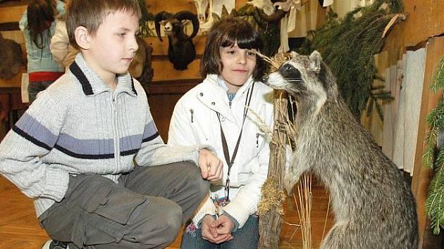 Myslivci ukázali trofeje jelenů, srnců i daňků