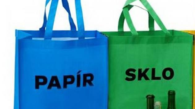 Za účast v anketě nabízí Teplice tašky na tříděný odpad