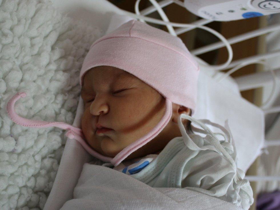 Karolína Demeová se narodila Evě Demeové z Hostomic 5. června  v 9.07 hod. v teplické porodnici. Měřila 49 cm a vážila 3,05 kg