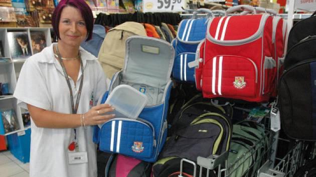 Prodej školního zboží