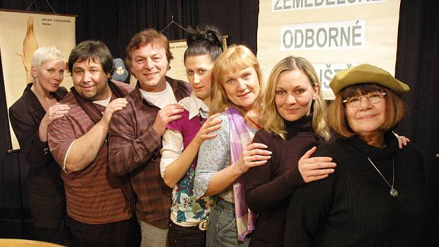Herec Pavel Trávníček představil komedii Sborovna premiérově v Duchcově.