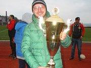Trenér RLC Dragons Krupka Tomáš Beránek.