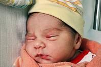 Eliška Chalupská se narodila Haně Chalupské z Krupky 8. května v 9,14 hodin v teplické porodnici. Měřila 51 cm, vážila 3,70 kg.