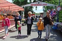 Antonínská pouť v Proboštově.