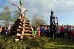 Pálení čarodějnic v Proboštově.