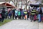 """46. ročník branného závodu mladých hasičů """"Pohár Nelsonské katastrofy v Oseku""""."""