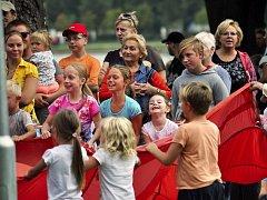 Oslavy 777 let od založení města Duchcova nabídly u rybníka Barbora pestrý program