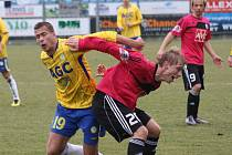 České Budějovice - FK Teplice 2:2. Na snímku Jakub Mareš