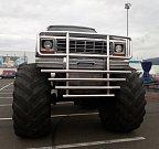 Monster Truck show bude k vidění u obchodního centra Olympie od středy do neděle vždy od 19 hodin.