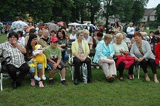 Oslavy v Zabrušanech k osmistému výročí založení obce.