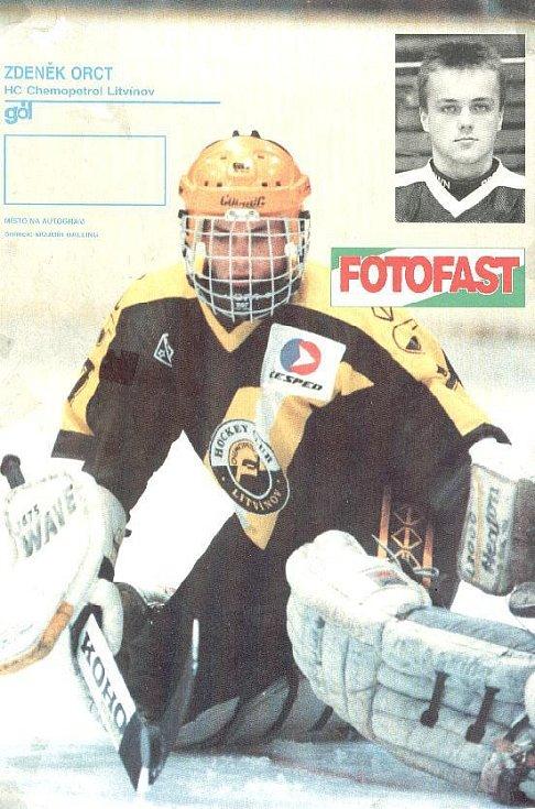Zdeněk Orct v časopisu Gól (1993)