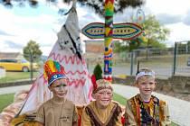 Indiánské odpoledne kmene Jéniksú v MŠ Jeníkov se povedlo.