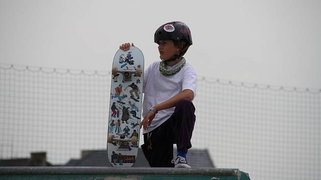 Skatepark Anger v Teplicích je po skončení karantény v obležení.