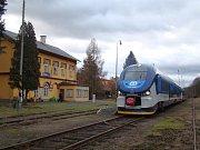 Ze železniční stanice Osek město směrem na Moldavu vlaky až do odvolání nejezdí.