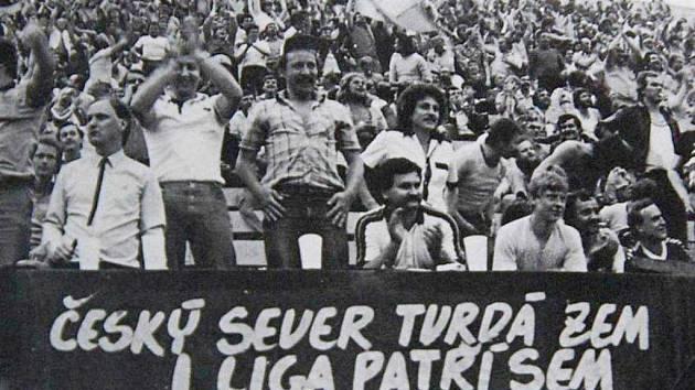 Fanoušci FK Teplice.