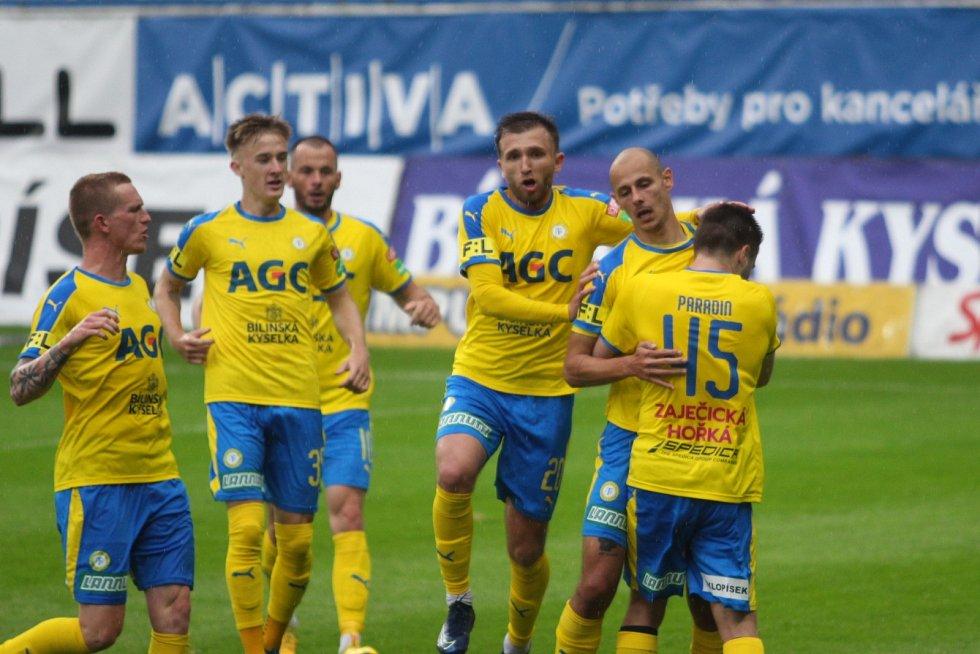 Teplice - Liberec 2:0. Gól Tomáše Kučery
