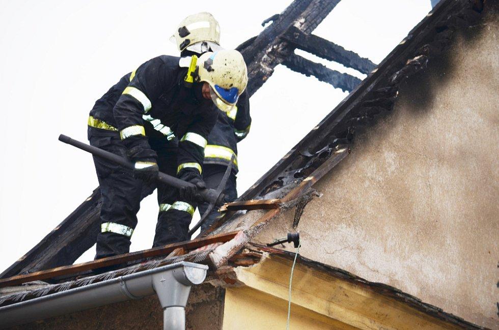 Požár v Bořislavi