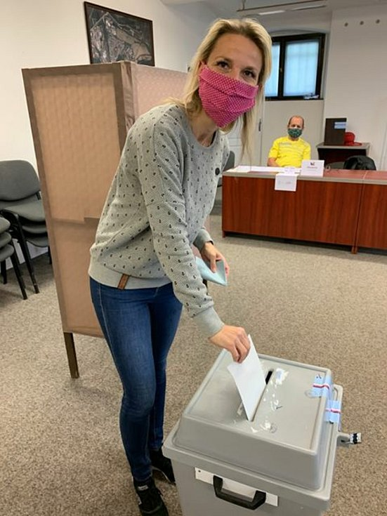 Zuzana Schwarz Bařtipánová u voleb