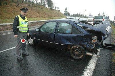 Nehoda na Cínovci