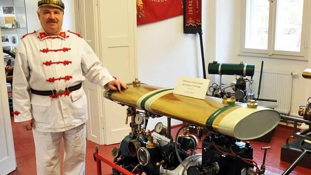 Dějiny hasičstva ukazují v Krupce