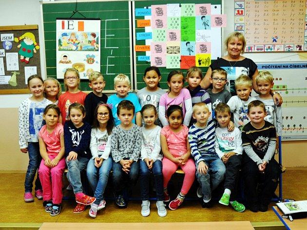 Žáci ze ZŠ Hrob, 1.třída paní učitelky  Lenky Brunclíkové.