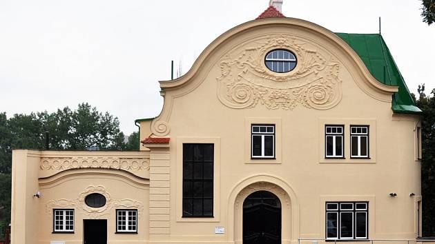 Schmettanova vila v Bíině po rekonstrukci.