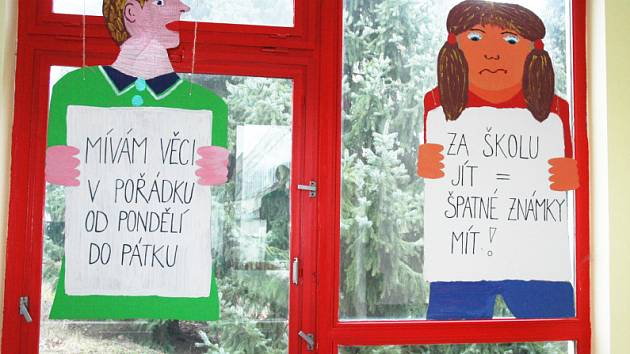Malovaný školní řád