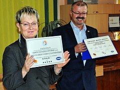 Domov důchodců v Bystřanech získal od Asociace poskytovatelů sociálních služeb ČR značku kvality v sociálních službách.