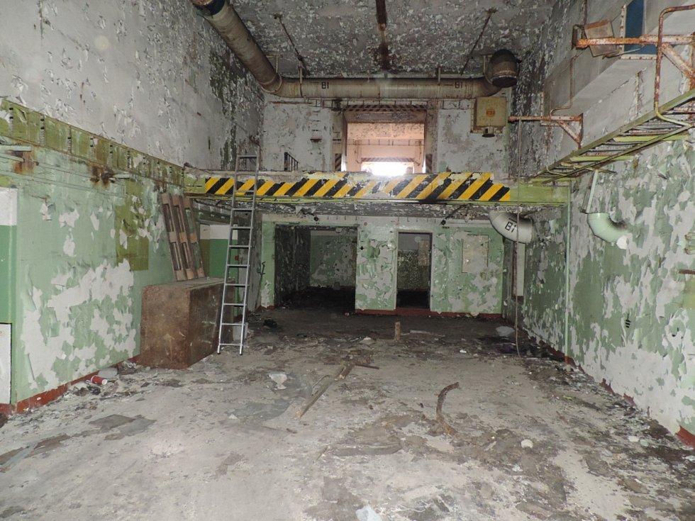 Bývalý muniční bunkr v Červeném Újezdu.