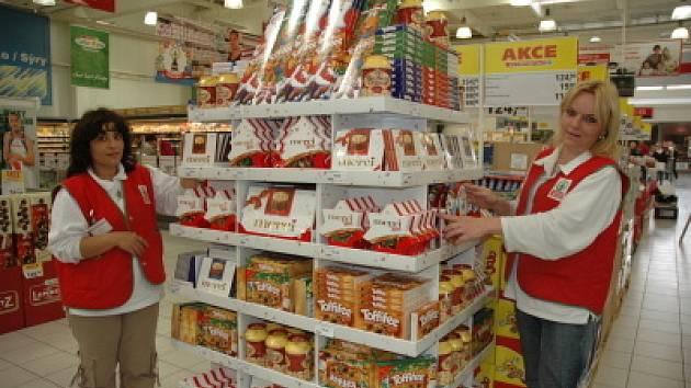 Vánoce přicházejí do marketů