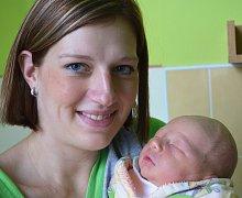 Mamince Monice Černé z Věšťan se 26. listopadu v 7.41 hod. v teplické porodnici narodil syn Adam Riedel. Měřil 53 cm a vážil 3,70 kg.