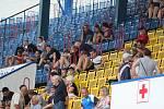 Diváci na fotbalu Teplice - Zlín
