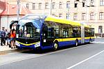 Nový trolejbus v Teplicích Škoda 33 Tr.