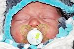 Matyáš Jelonek se narodil Haně Jelonkové z Teplic 30. prosince v teplické porodnici v 9.49 hodin. Měřil 49 cm, vážil 3,35 kg.