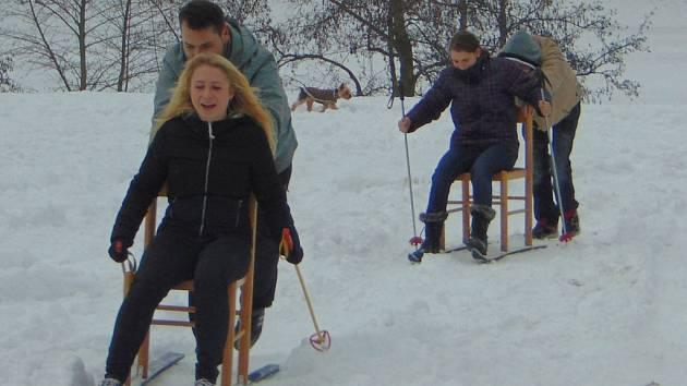 První ročník Ski rallye Proboštov přinesl spoustu legrace.