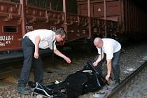 ILUSTRAČNÍ FOTO: Smrtelná nehoda na kolejích.