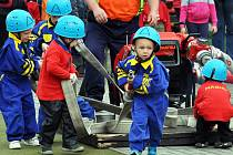 Soutěž malých hasičů. Ilustrační foto.