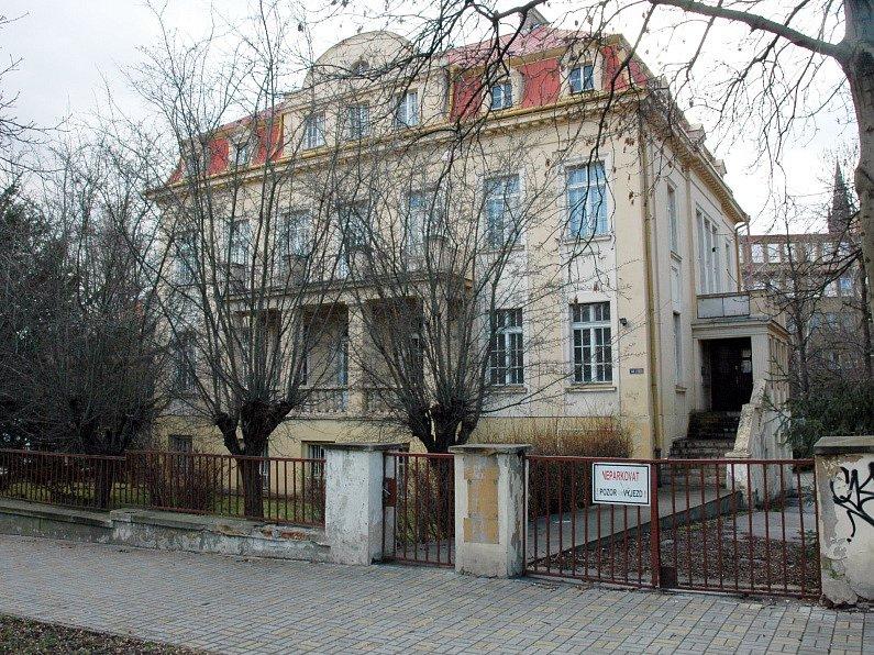 Vila, která nyní patří Jaroslavu Třešňákovi