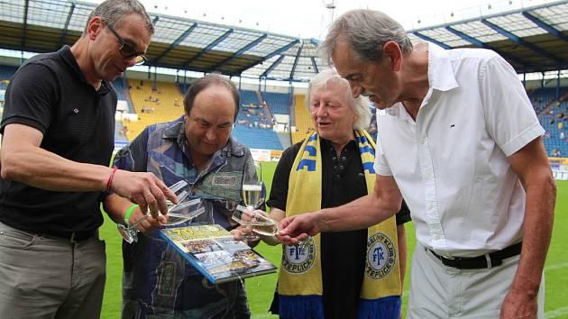 FK Teplice slavil 70 let od vzniku klubu