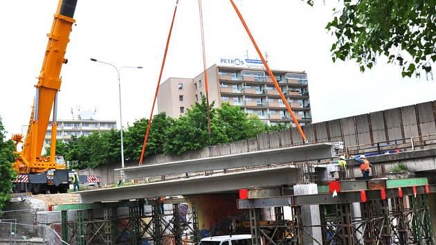 Rekonstrukce mostu u torza zimáku v Teplicích