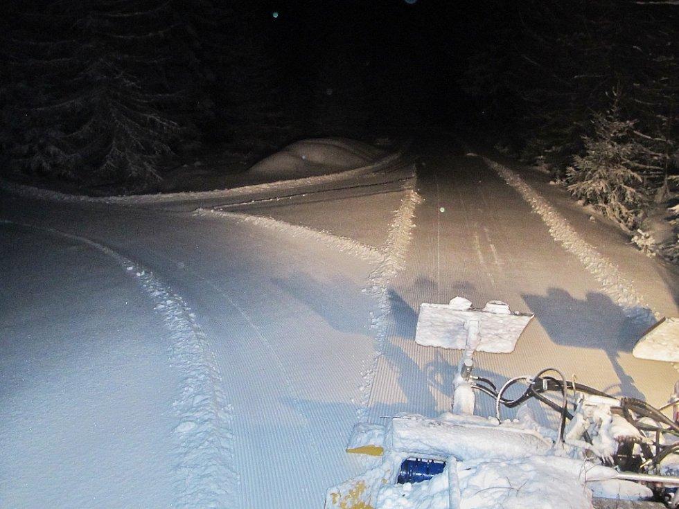 Úprava stop Krušnohorské magistrály na Teplicku