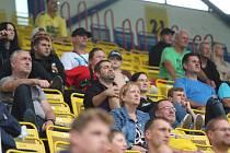 Diváci na fotbale Teplice - Ostrava