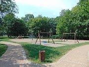 Park Herty Lindnerové v Krupce.